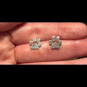 Paw Stud Earrings